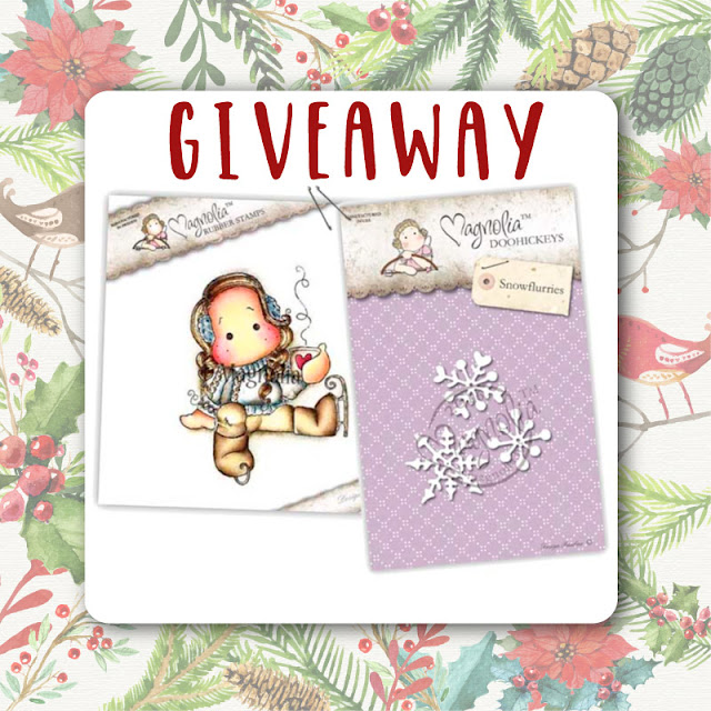 GIVEAWAY 2: Magnolia Dies and Stamp Set