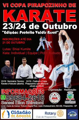 6ª Copa Pirapozinho de Karate