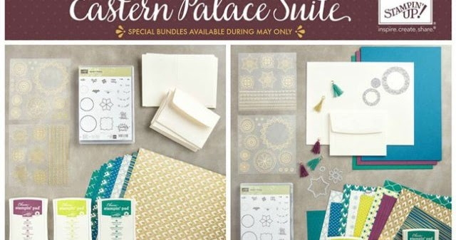 Eastern Palace Artisan blog hop | The Stamping Shed