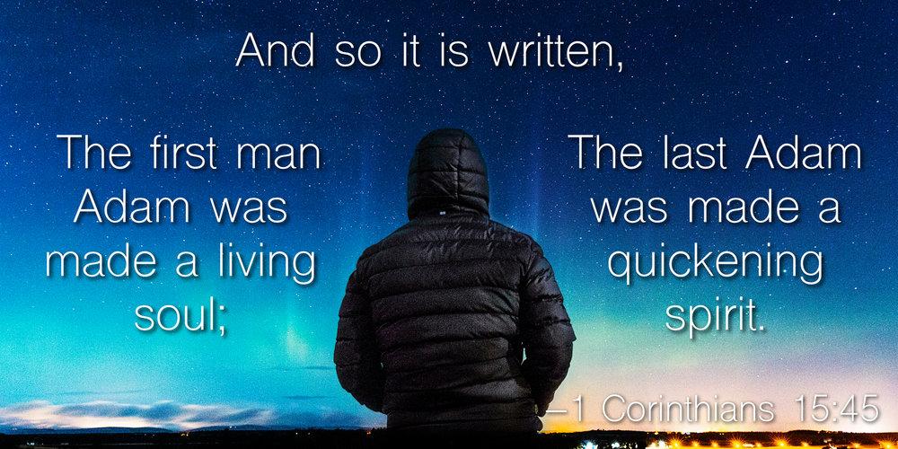 Living Soul : Living Souls for Holy God