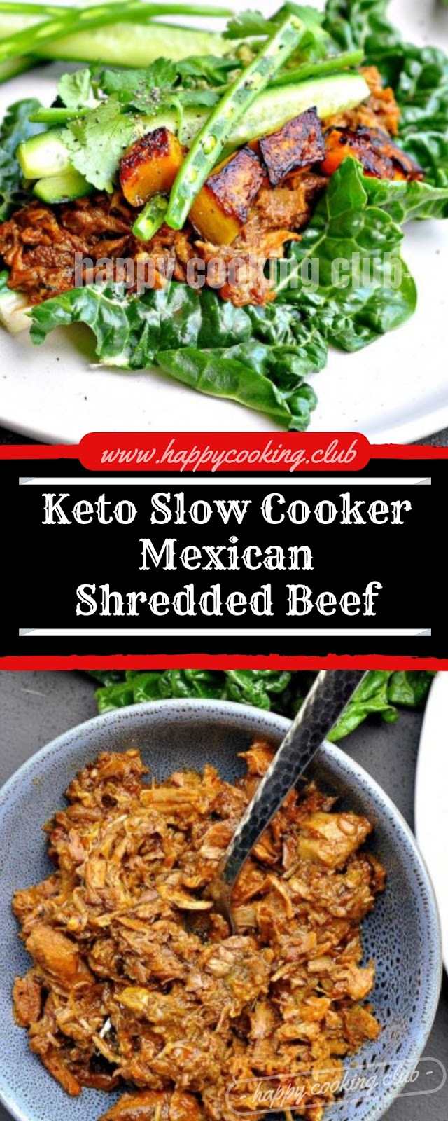 Keto Slow Cooker Mexican Shredded Beef