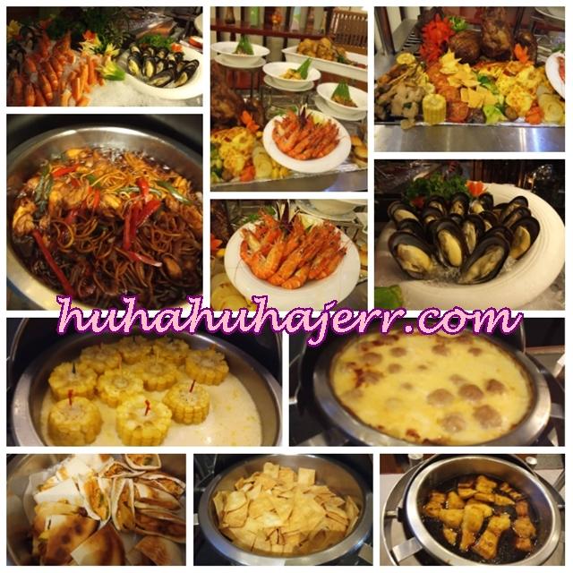 HIDANGAN 4-IN-1 BUFFET DINNER DI RESTORAN ROYALE SONGKET