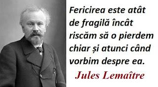 Citatul zilei: 27 aprilie - Jules Lemaître
