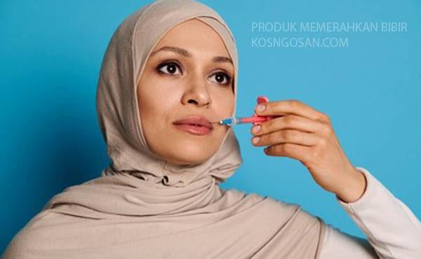 produk memerahkan bibir