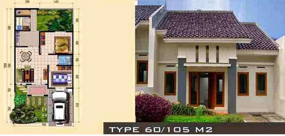 Desain Rumah Minimalis 1 Lantai Type 60 - Foto Desain ...