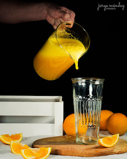 Zumo de naranja Thermomix