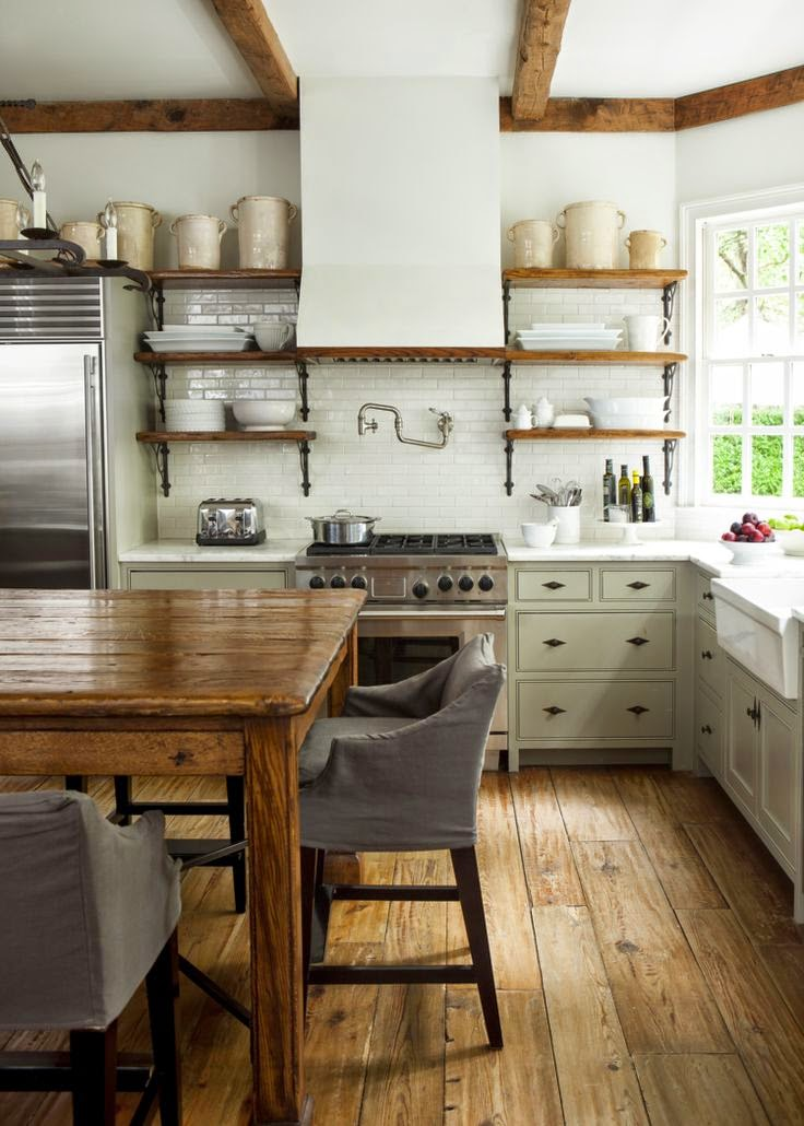 My Sweet Savannah: ~favorite Green Kitchens~{with Paint