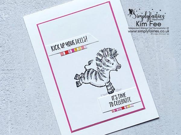 Simple Stamping Sunday with Zany Zebra Stamp Set!