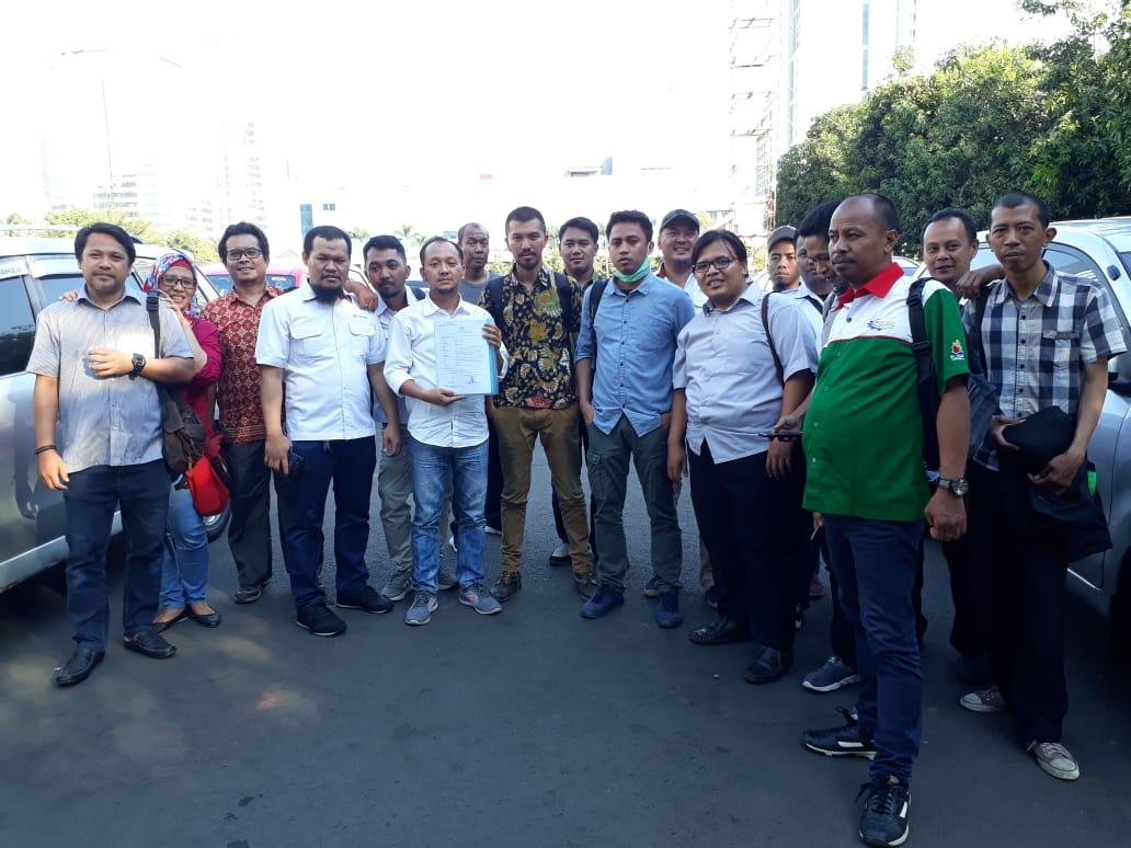 SP  Antara bersama LBH PERS, LBH MASTERS, dan LBH ASPEK INDONESIA