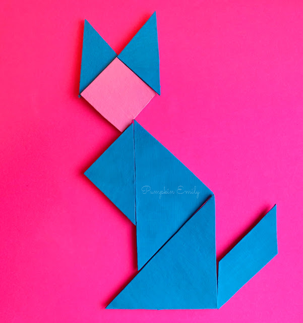 DIY Tangram Magnets