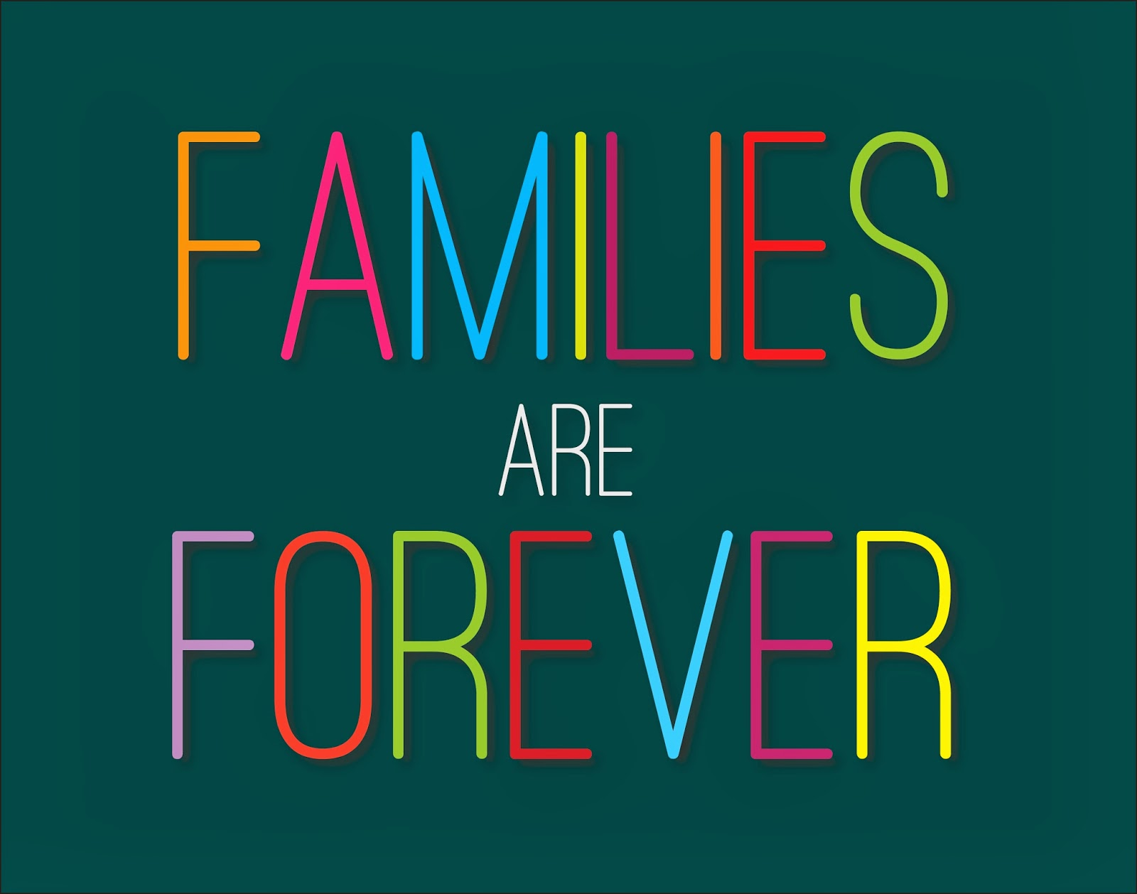mckenna woolley: Families are Forever   Primary Theme 2014