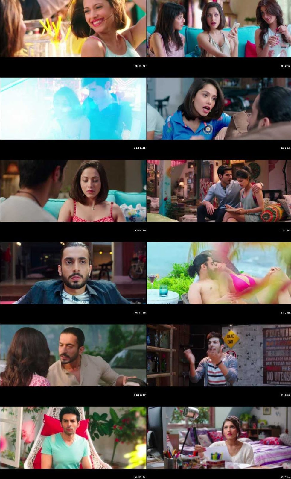 Pyaar Ka Punchnama 2 2015 Full Hindi Movie Download HDRip 1080p MSub