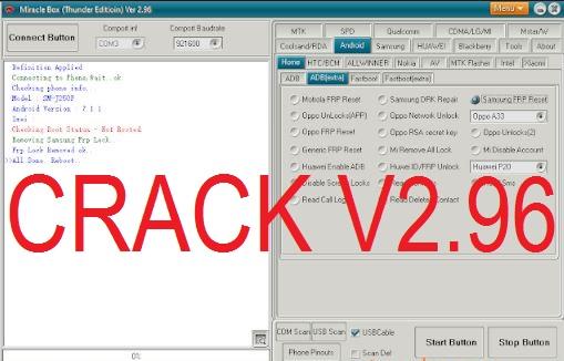 Download Miracle Box Crack 2.96 Thunder Edition