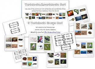 http://homeschoolden.com/2014/03/05/free-montessori-cards-vertebrates-invertebrates-5-vertebrate-groups/