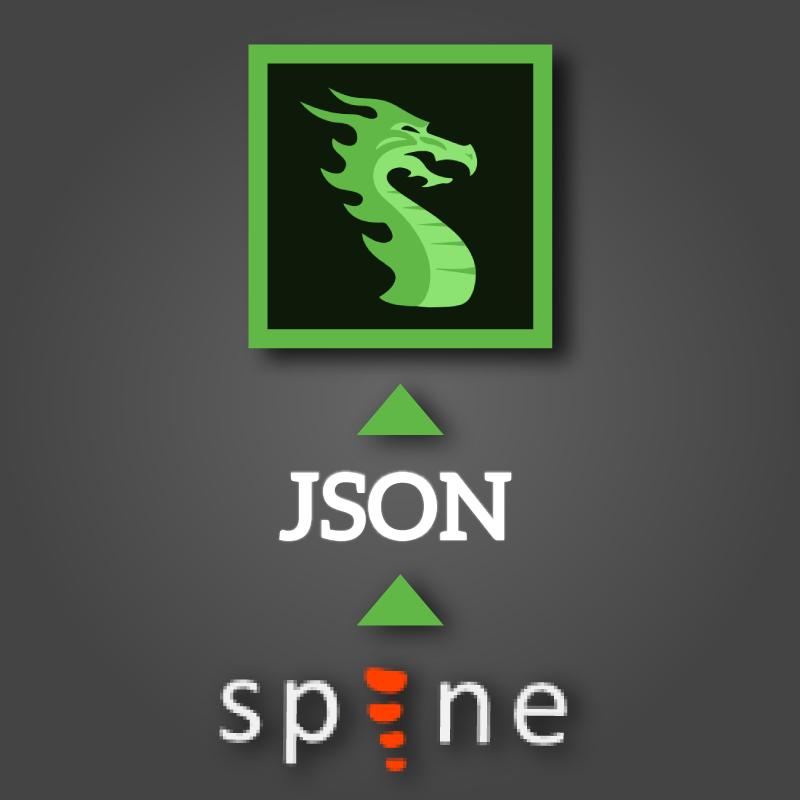 Import From Spine To DragonBones | Egret DragonBones