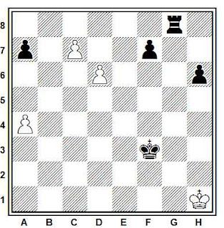 Problema ejercicio de ajedrez número 699: Benavent - Domínguez (Badalona, 1977)