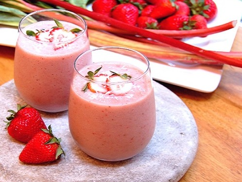 Method of action of strawberry smoothie and oats