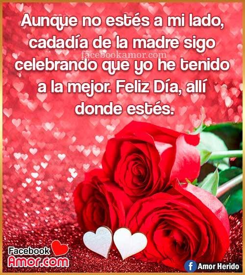 rosas rojas con frases para mamá