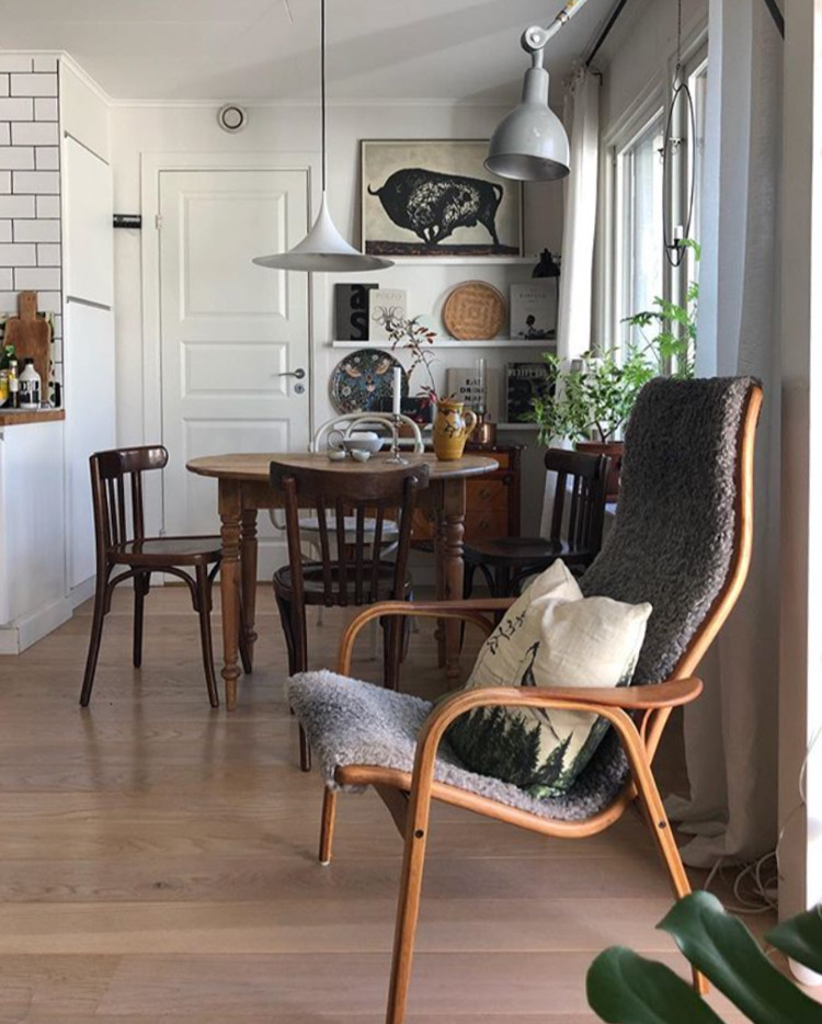 The Cosy & Eclectic Home of a Swedish Stylist