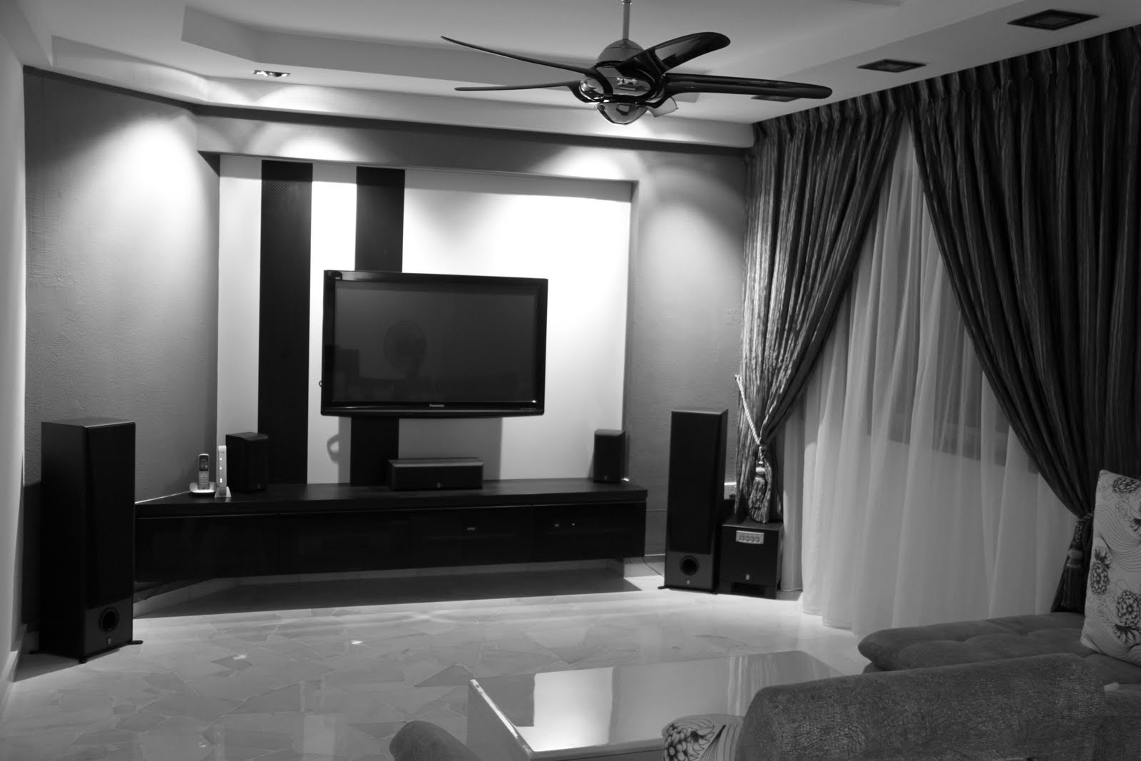The Tv Feature Wall