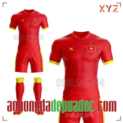 Áo Việt Nam 2020 Sân Nhà Màu Đỏ Đẹp Và Độc