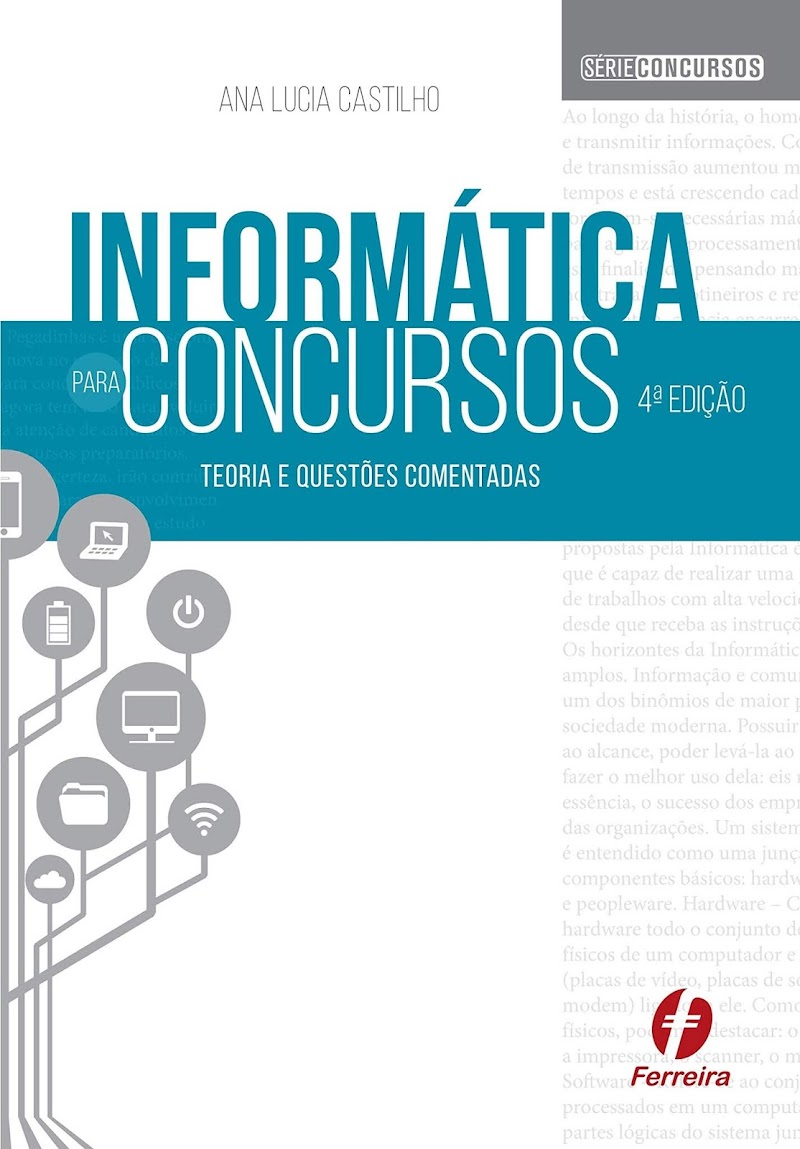 Informática para Concursos: Teoria e Questões Download Grátis