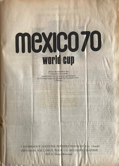 Album Vanderhout Messico 70
