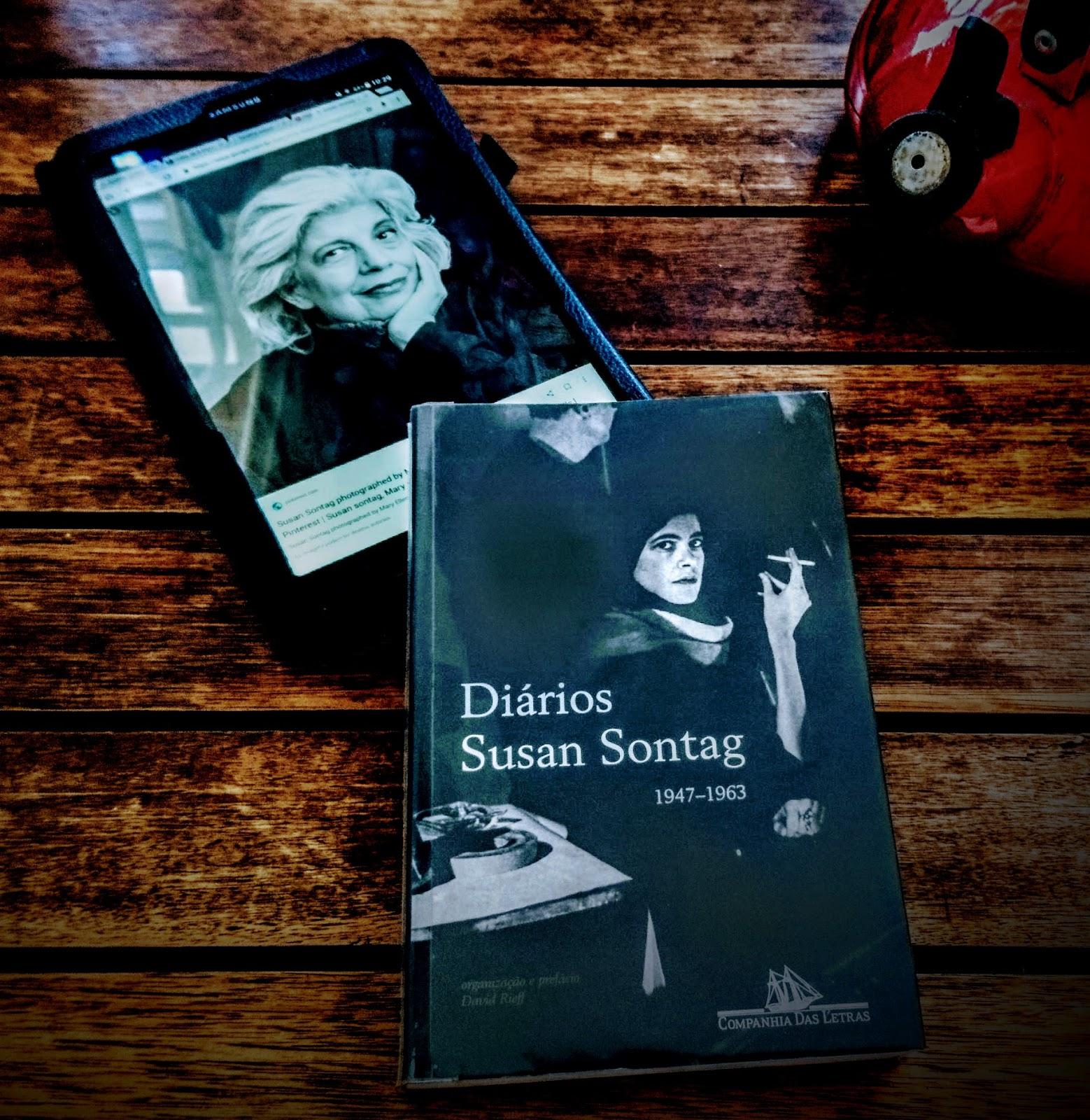 'diários de Susan Sontag'.