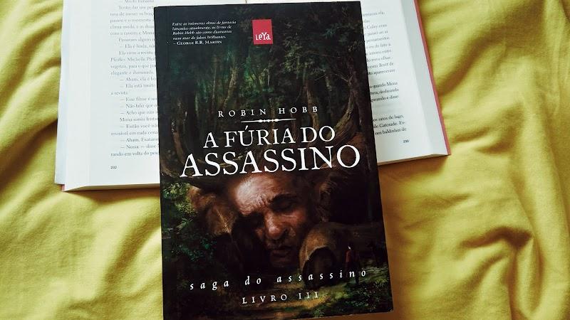 [RESENHA #440] A FÚRIA DO ASSASSINO - ROBIN HOBB
