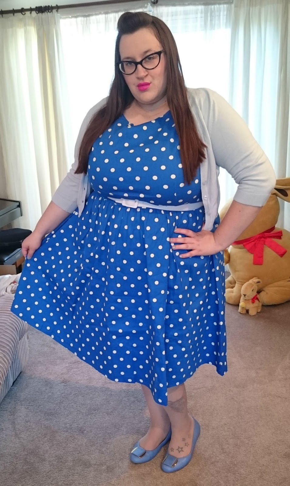 Lindy Bop Blue Audrey. 25 Oct 2015. Posted by Does My Blog Make Me Look Fat  ... c92eec626