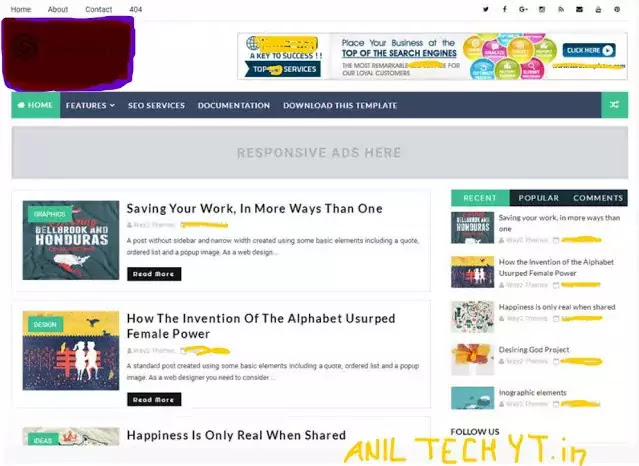Seo Friendly Blogger Template 2021 Free Download