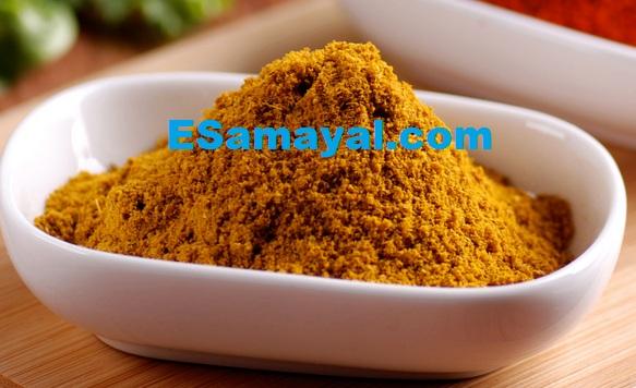 சாம்பார் பொடி செய்முறை | Sambar Powder Recipe !