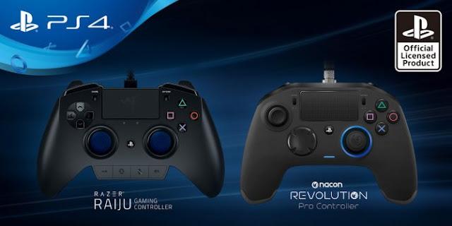 Se presentan dos nuevos mandos licenciados por Playstation