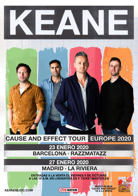Keane - Cause and Effect (2019) Keane
