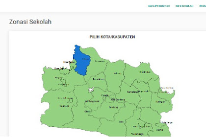 Daftar SMA Negeri Kabupaten Bekasi Berdasarkan Sistem Zonasi PPDB Jabar 2019