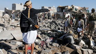 air strike on civilians in Yemen