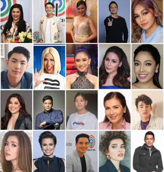 ABS-CBN stars Christmas Station ID 2020