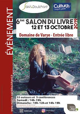 L'affiche du 6e salon du livre du Domaine de Varye