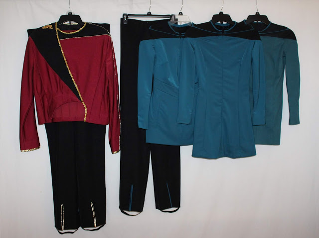 TNG admiral uniform and medical smocks for sale