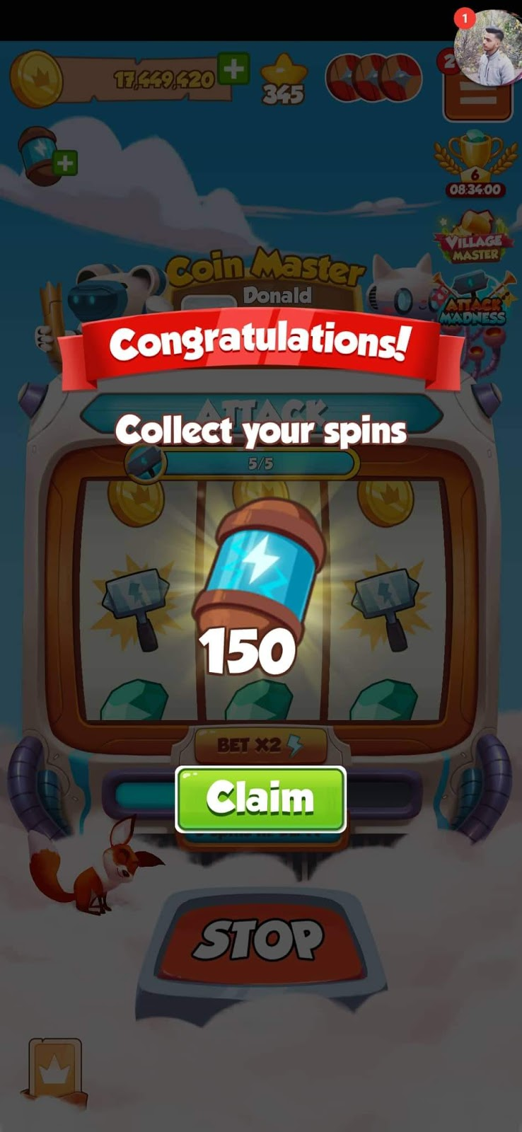 Haktuts 2020 Coin Master Free Spin Link