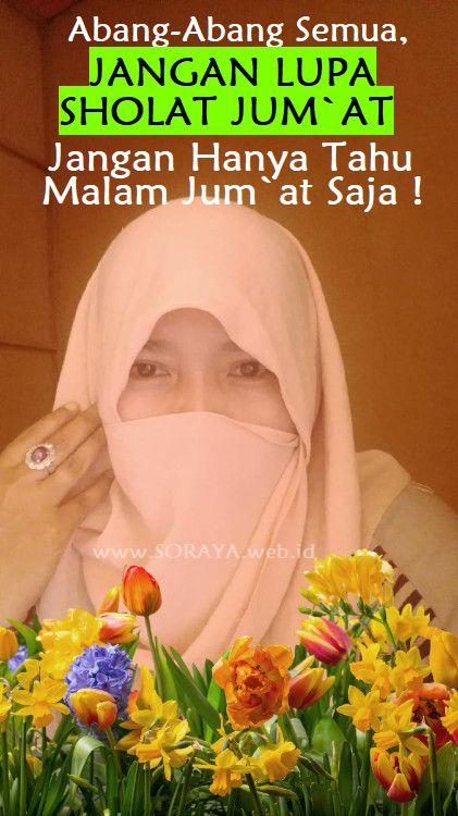 kata-kata mutiara bijak hari Jum`at photo soraya wanita berhijab