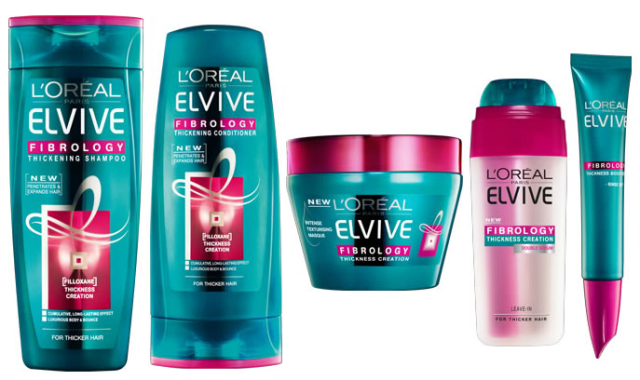 L'oreal fibrology haircare