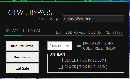 BYPASS CTW GAMELOOP 4.4 & 7.1    PUBG MOBILE 1.3.0
