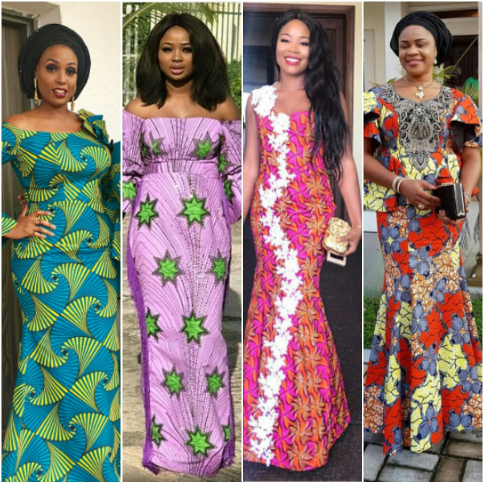 Latest ankara long gown styles download latest ankara for Current wedding dress styles