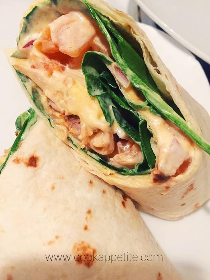 Chicken Chapati Roll Recipe