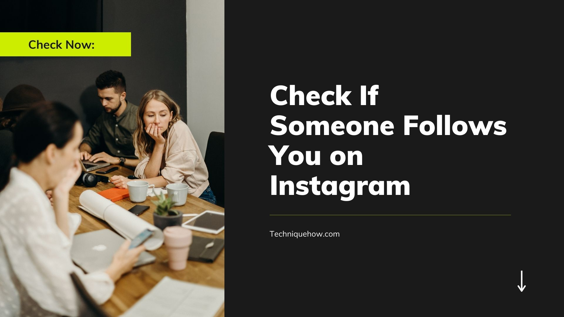 Check If Someone Follows You on Instagram