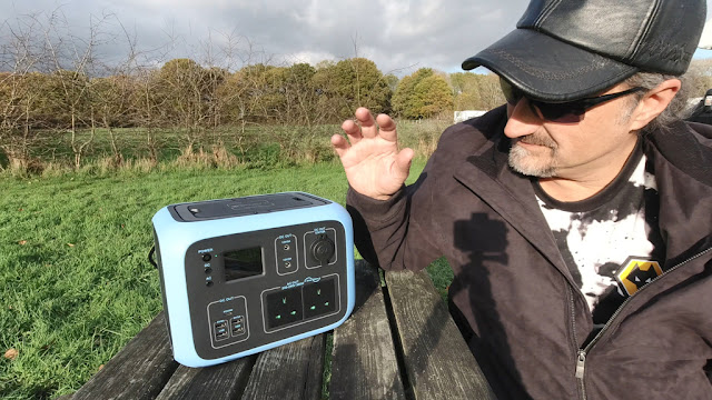 Poweroak blows me away with their Bluetti AC50S 500Wh Portable Power Solar Generator