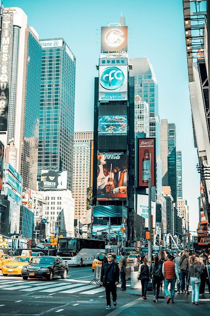 صورة التايمز سكوير في نيويورك