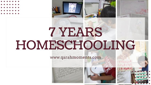 7 Years of Homeschooling