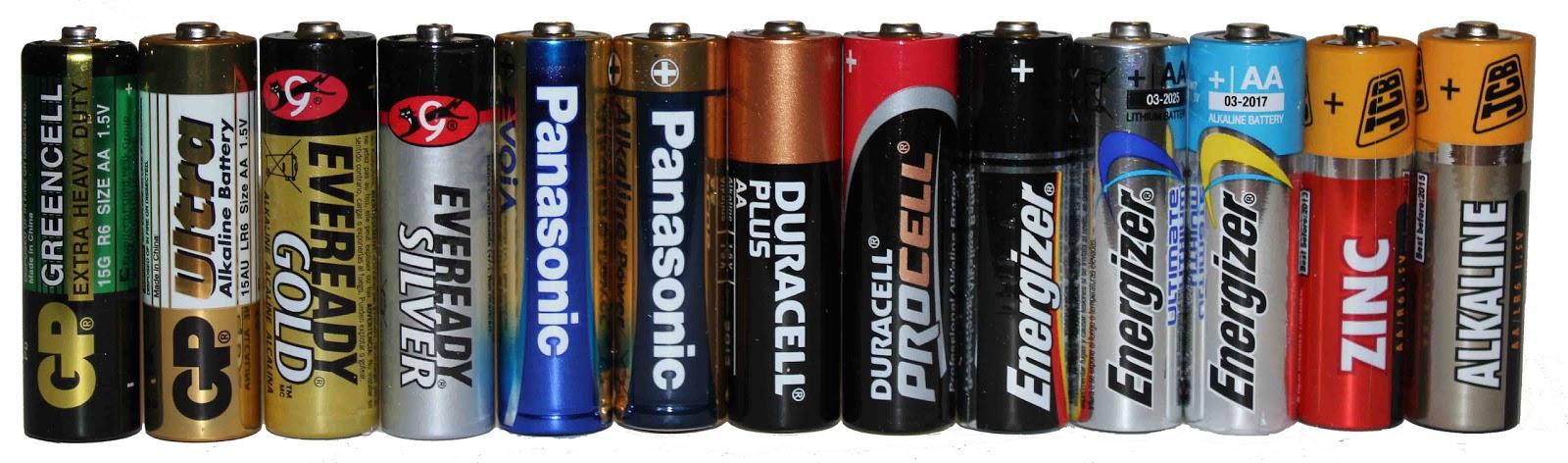 Scavenger S Blog Q 1 Non Rechargeable Batteries Why Do